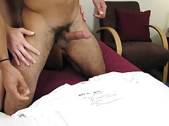 Blowjob for several men and behind gay blowjob at Straight Rent Boys