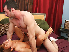 Bath sex boy and man cumming in gay mans mouth at I'm Your Boy Toy