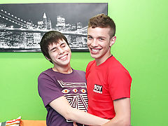 Kyler Moss and Ryan Sharp are two of the hottest new twinks on the scene and we're proud to call them exclusives gay blowjob twinks at Boy Crush!
