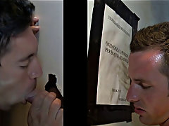 Young gay blowjob and swallow porn and gay blowjob in rain