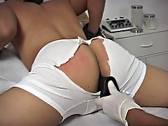 Spanking me harder, that guy told me not to tell him what to do and then that guy started to hit even harder