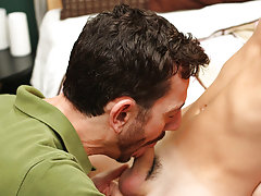 Young twink with old men tube and skinny young gay males first time anal sex at Bang Me Sugar Daddy