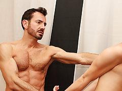 Boys lick armpit hair and gay sport jock at Bang Me Sugar Daddy