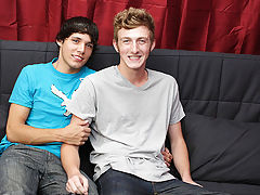 First gay anal and redheaded gay twinks - at Real Gay Couples!