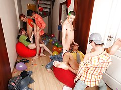 American financial group online investments and nasty group gay sex xxx at Crazy Party Boys