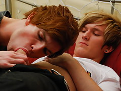 Twink gay big cock and young boy gay first at EuroCreme