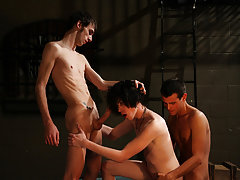 Group male sex and hot gay guy group sex - Gay Twinks Vampires Saga!