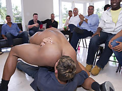 All male group sex and male tickling groups at Sausage Party