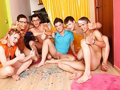 Gay anal groups and xfiles blue man group at Crazy Party Boys
