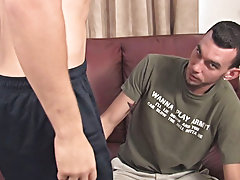 He was riding it reverse cowboy style and moaning and jerking as Caiden filled his ass hardcore old horny guys at Broke College Boys!