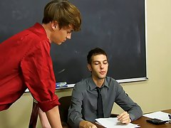 As it turns out, that teacher's desk is good for a lot more than failing students' work on nude gay free twinks at Teach Twinks