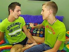 Hot gay kiss twink jock and twink uncut gay men solo cumming