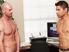 Boy fucking boy massage video at My Gay Boss