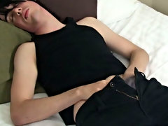 He gave a damn hot performance in his solo video male masturbation postions at Homo EMO!