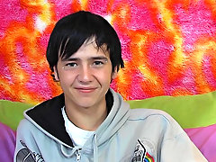 The cute raven haired teen talks here which scene was his favorite, his preferred positions, and much more amtuer gay twink