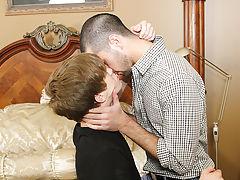Dildos fucking gay boy asses and young gay boys dick blowjob at My Husband Is Gay