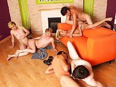 Tgp gay groups and free gay group sex at Crazy Party Boys
