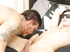 Hairy brown gay movie and fit guys pissing and fucking at I'm Your Boy Toy