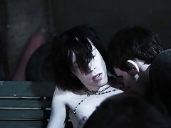 All male nudist groups and gay group sex orgy - Gay Twinks Vampires Saga!