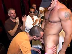 Gay group and gay group sex free at Sausage Party