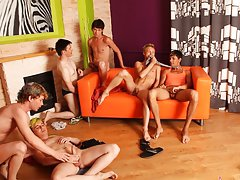Teen gays group and health mental disorders anxiety support groups at Crazy Party Boys