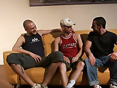 Group of straight men get horny and gay fisting groups