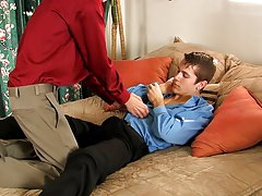 Twink cum party movies and gay dominatrix anal at My Gay Boss