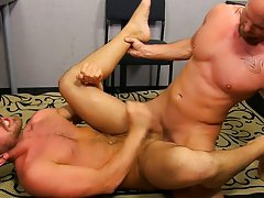 Twinks fucking in sexy underwear and buff smooth gay guys fuck at My Gay Boss
