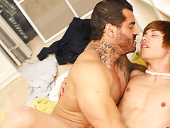 Hardcore old horny guys and hardcore tattooed gay men at I'm Your Boy Toy