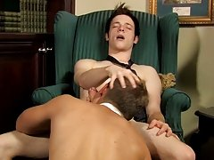 When Jesse cums with Micah's weenie inside him, Micah feeds him some of his own cum before blowing his own load twinks fucking men at My Gay Boss