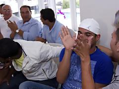 Gay group sex 6 guys and gay group sex orgies at Sausage Party