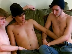 These 3 youthful lads swallow each other's weenies before deciding they all desire some ass male wack off jo grou - at Tasty Twink!