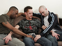 This flash goes from hot to scorching ages these manly studs get hard and horny interracial gay porn