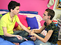 You'll get to watch as both boys suck cock grammatically and baby those delicious twink dicks throb gay twink whore