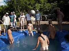 There is nothing like a nice summer time splash, especially when the pool is man made and ghetto rigged as fuck support groups for men with