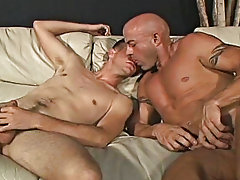 The men approach together, pouring their hot milk onto Josh's abs free gay anal movie post