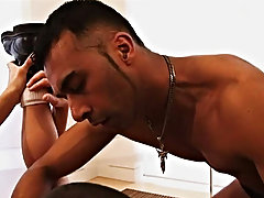 One guy takes the role and puts anything in front of the others mouths and noses, including fresh from the ass anal toys, getting them to smell the ve