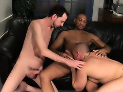 His first huge cock hardcore gay group sex
