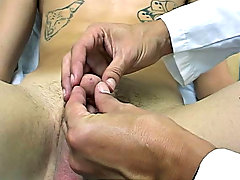 I was really giving him the juice as the current was flowing nice onto both parts of his genitals gay male fetish dvd