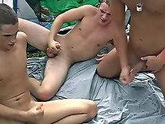 His load went all over it, and his leg young gay male twinks