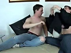 It's been awhile since we've seen JT & Jordan and Jordan plays the bottom in today's shoot male anal orgasms