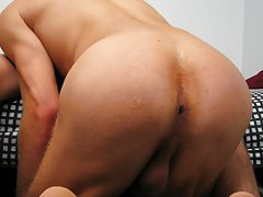 After you watch him deep throat that cock a few times you'll be wondering the same thing yourself gay blowjob video trailer