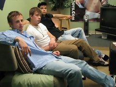 They swapped; the Broke Straight Wave going the other way as Braden and Mike turned to their left guy group sex