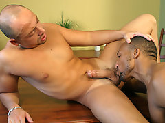 Jordano slipped that ultra-realistic anal sheath over his huge cock and discovered that he liked the have the impression of ass so much, he wanted to
