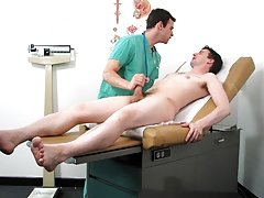 In an amazing explosion, I layered Dr. James' face with my warm load asian gay cum