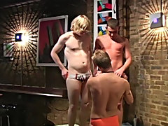 Aden fucks his bud in assorted positions while sucking cock, then they link up in a chain and all 3 fuck at the same time gay hotel orgies yahoo group