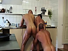 Preoccupied ass eating and hardcore fucking, each satirize gets his execute a make out of pulsating dick and twitching asshole gay men hunks at Alpha