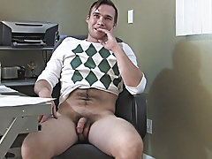 Broke College Boys male masturbation with adul at Broke College Boys!