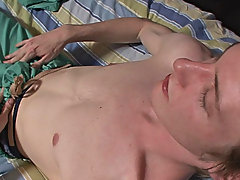 Byron is a fervent str8 dude with an amazing wit to suck his own cock observing men masturbate