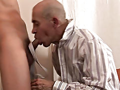 The boy willingly works on the guru's filthy hole, and, grateful, his older sidekick licks the cock clean, helping the boy to cream his sexy stom